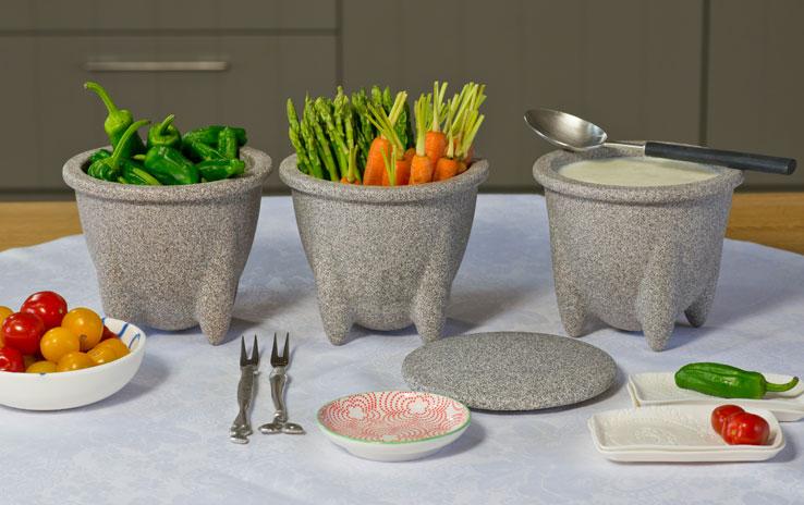 DENK Keramik Skladovací nádoba na potraviny s víkem 700ml