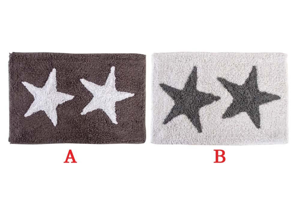 Předložka do koupelny Hvězdy 60x40cm Provedení: A