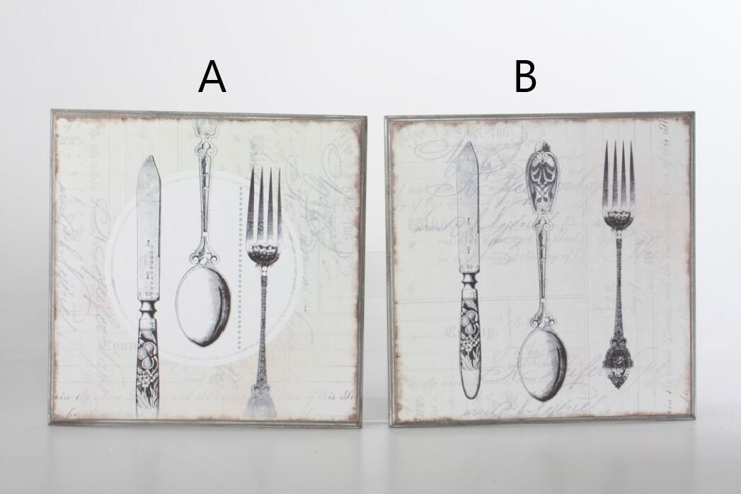 Obraz Cutlery 25x25cm S motivem: A