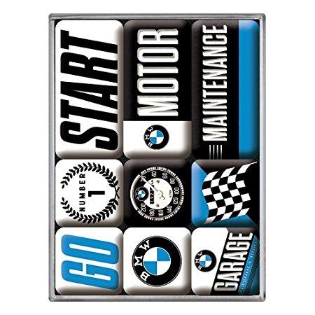 Nostalgic Art Magnetky na ledničku BMW Garage