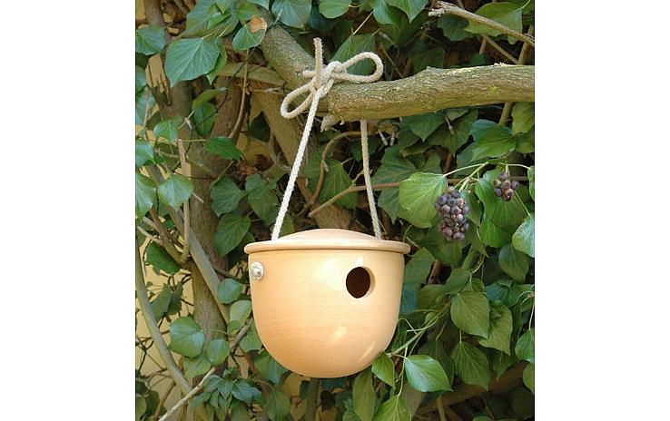 DENK Keramik Ptačí budka | Pro střízlíka | CeraNatur | 18x14cm