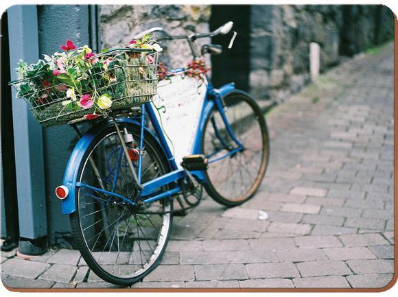 Creative Tops Korkové prostírání Vintage Bike Rozměry: 40x29cm - 4ks