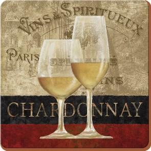 Creative Tops Korkové prostírání Chardonnay Rozměry: 10x10cm - 4ks