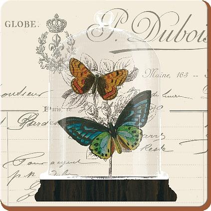 Creative Tops Korkové prostírání Nature Under Glass Rozměry: 10x10cm - 6ks
