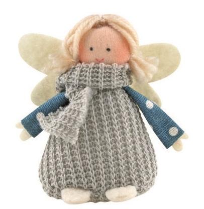 Anděl Přerov Anděl šedé pletené šaty 8cm