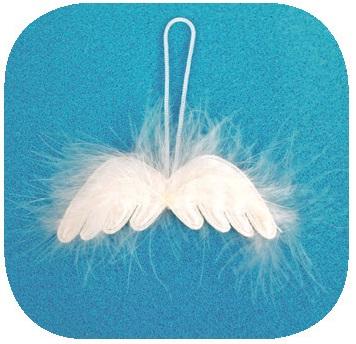 Anděl Přerov Andělská křídla 8cm