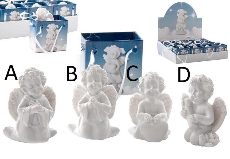 Figurka ANGEL in BAG 4x5cm Provedení: A