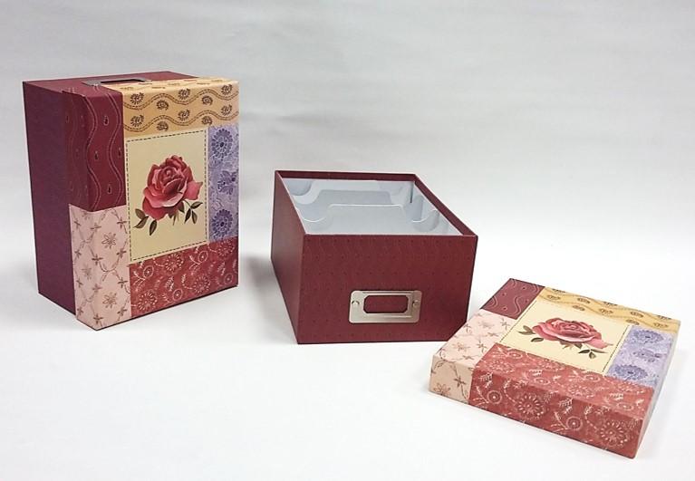 Krabice na foto ROSA 21x17x12cm
