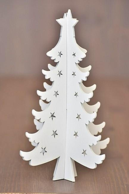 HR Dřevěný vánoční stromeček Velikost: větší