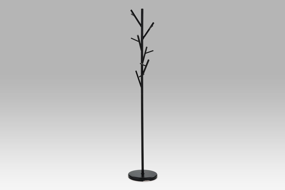 Věšák výška 170cm Barva: černá