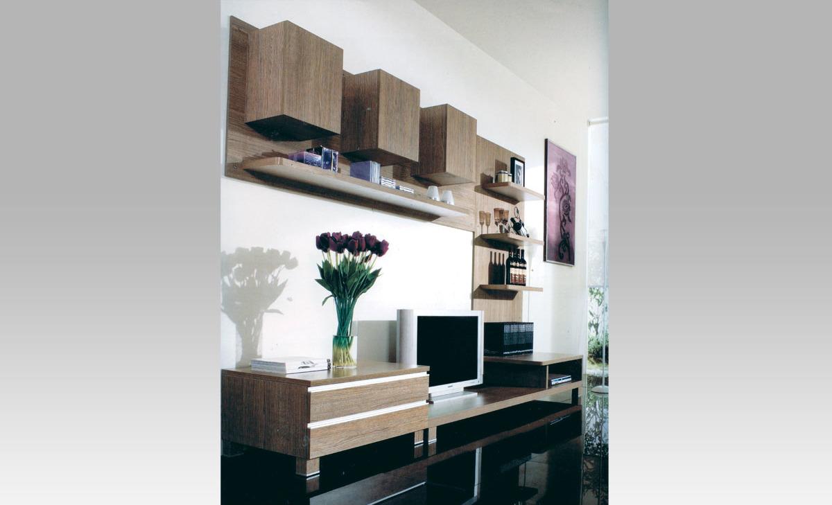Obývací stěna | noce | 300x59x210cm Provedení: A