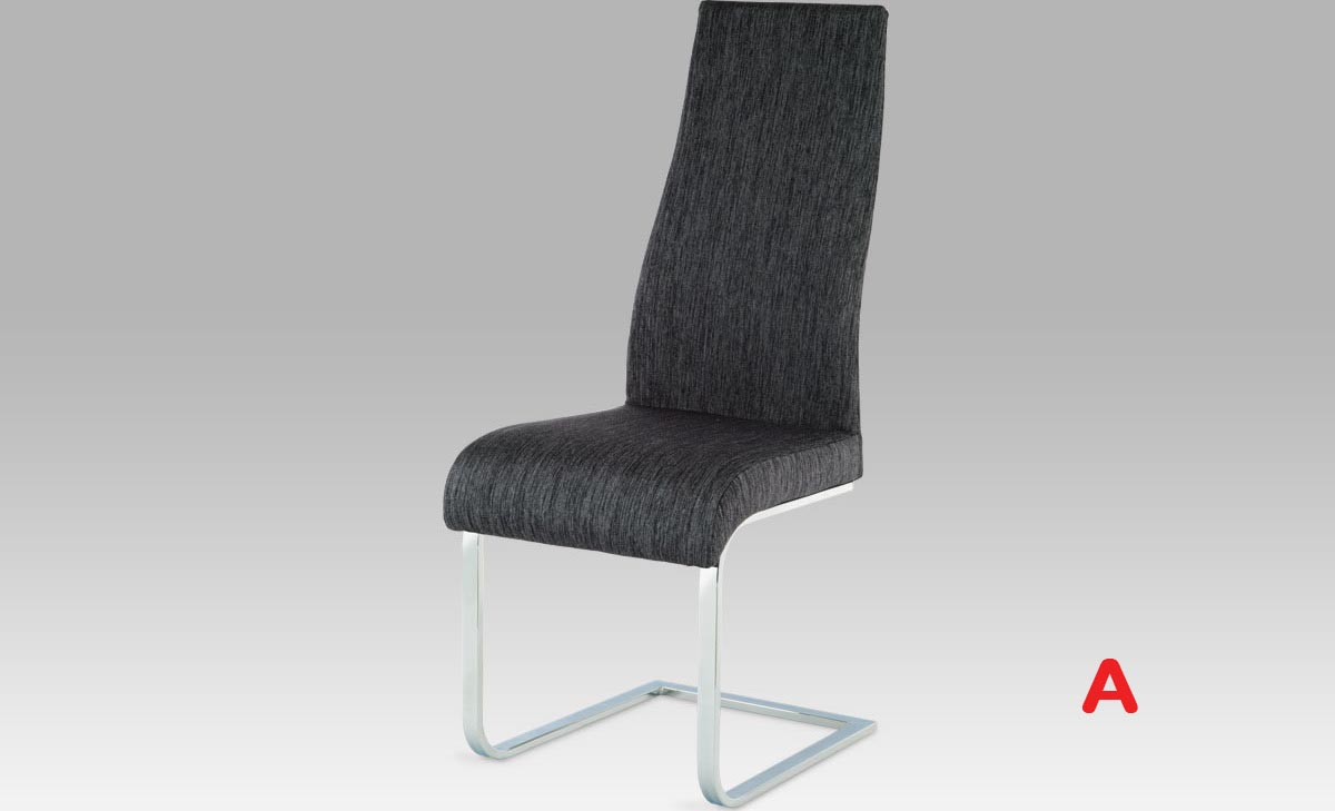 Artium Jídelní židle | chrom | látka Provedení: A