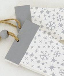 Artium Dřevěná rukavice na zavěšení sada 2ks Barva: šedá