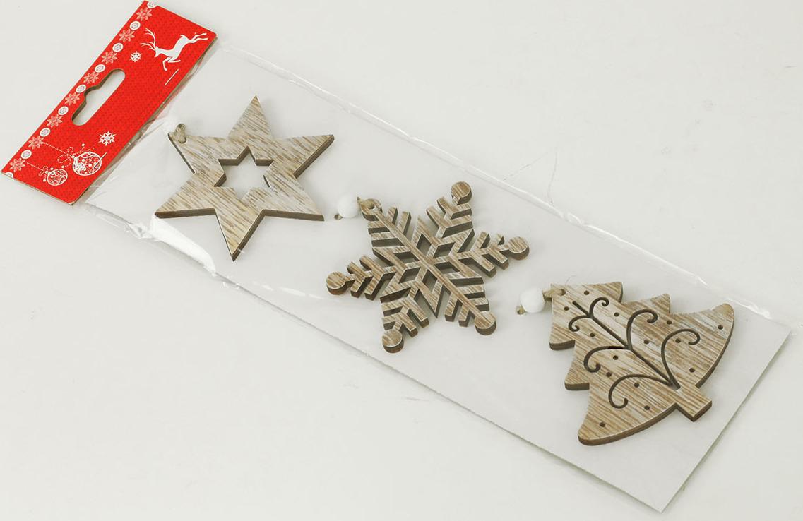 Artium Vánoční dřevěná dekorace na zavěšení