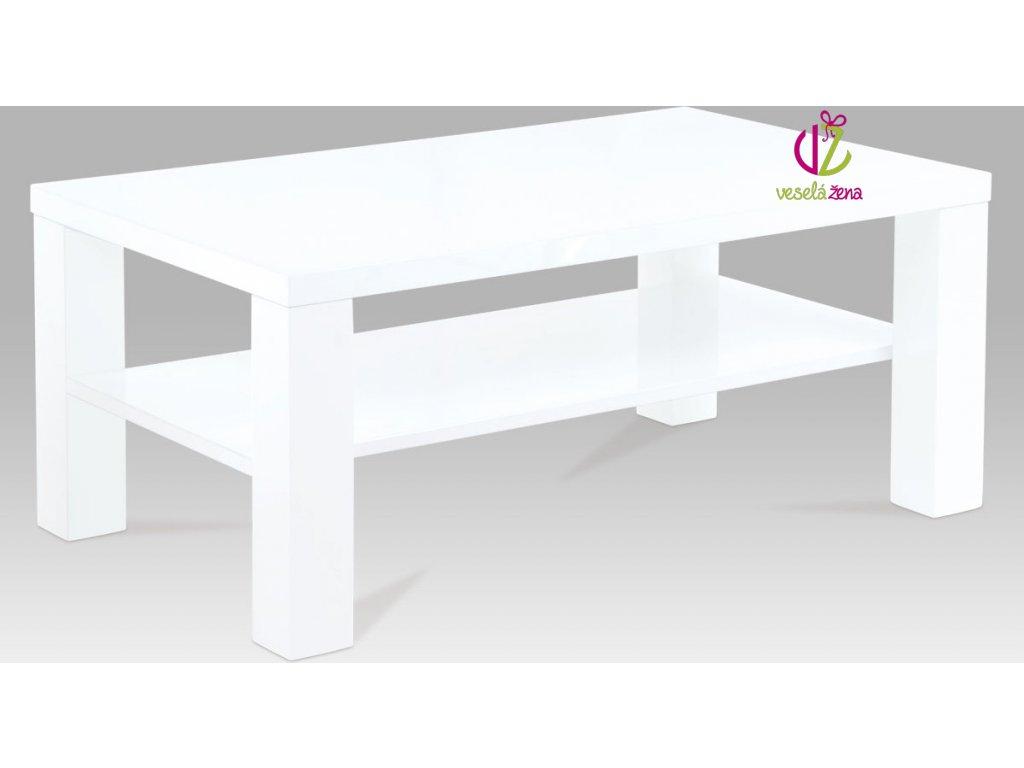 Konferenční stolek | 100x60x42cm Barva: bílá