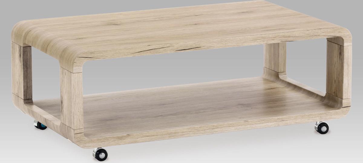 Konferenční stolek | pojízdný | 105x60x40cm