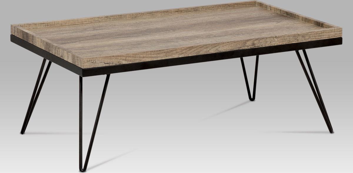 Konferenční stolek dub canyon grey