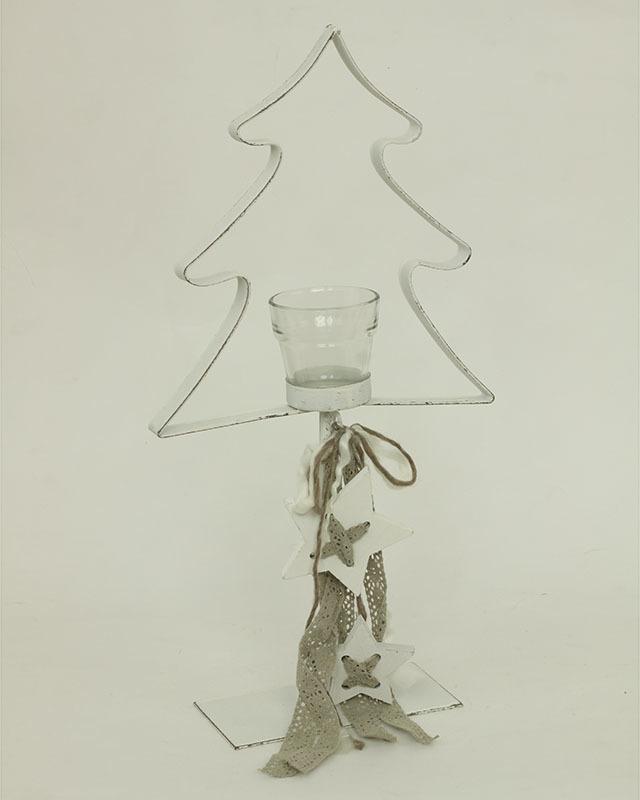 Artium Svícen kovový strom a hvězda Provedení: Stromek