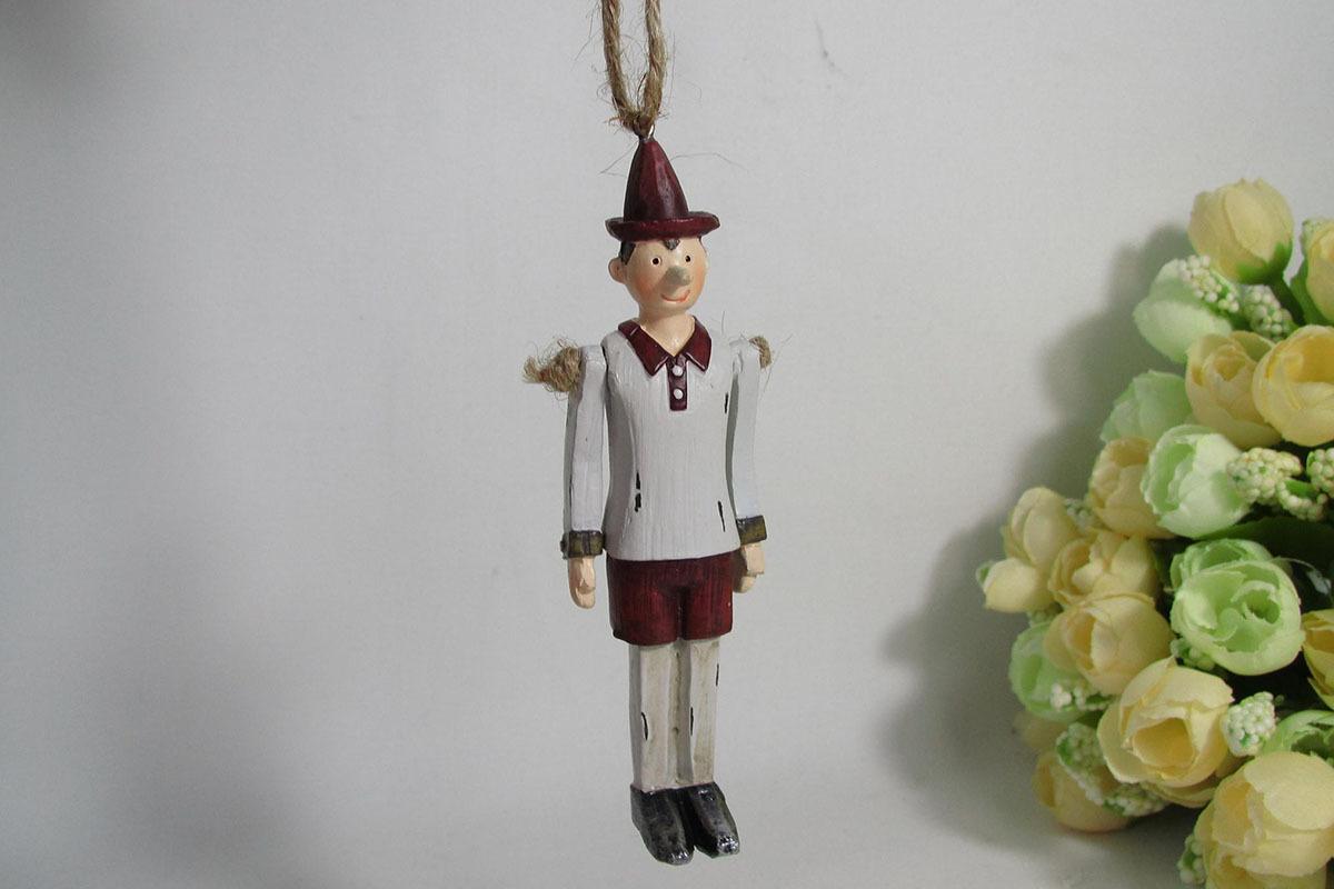 Závěsný panáček Pinokio