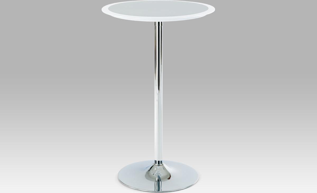 Barový stůl plastový 105x60x60cm Barva: bílá