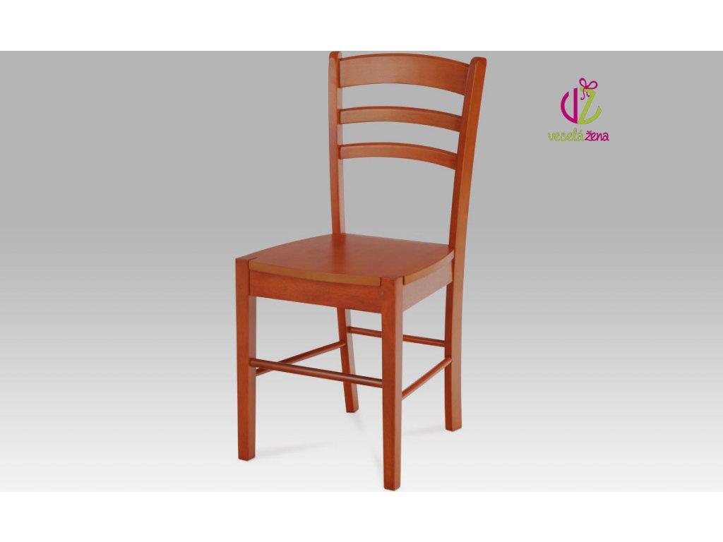 Artium Jídelní židle dřevěná 40x38x86x45cm Barva: třešeň
