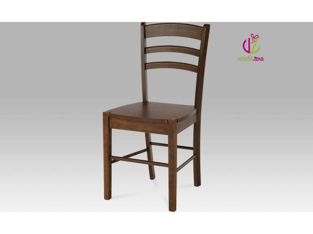Artium Jídelní židle dřevěná 40x38x86x45cm Barva: ořech
