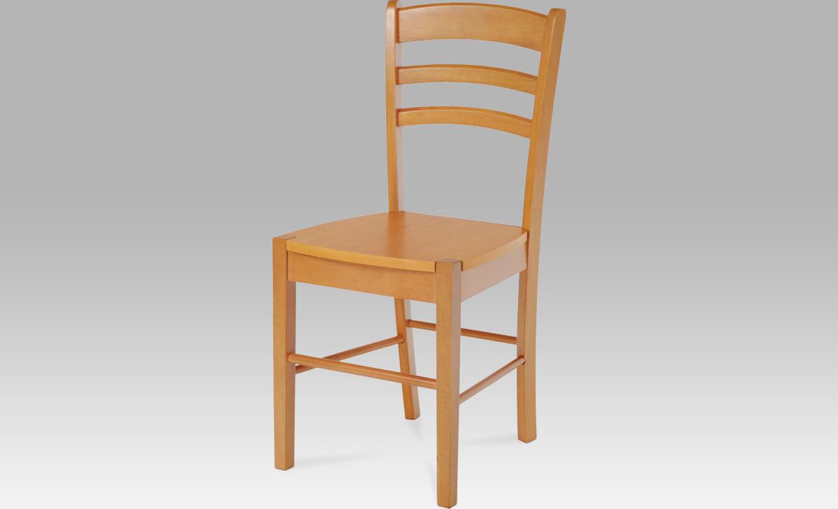 Artium Jídelní židle dřevěná 40x38x86x45cm Barva: olše