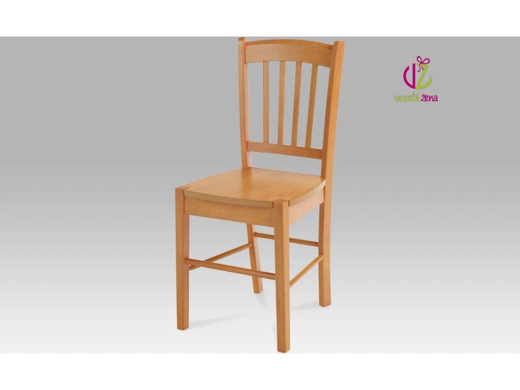 Artium Jídelní židle dřevěná 40x36x85x45cm Barva: olše