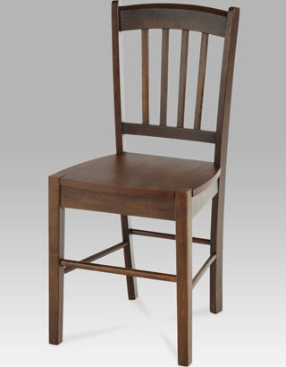 Artium Jídelní židle dřevěná 40x36x85x45cm Barva: ořech