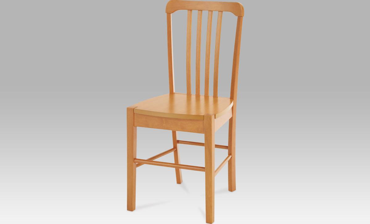Artium Jídelní židle dřevěná 40x35x86x45cm Barva: olše