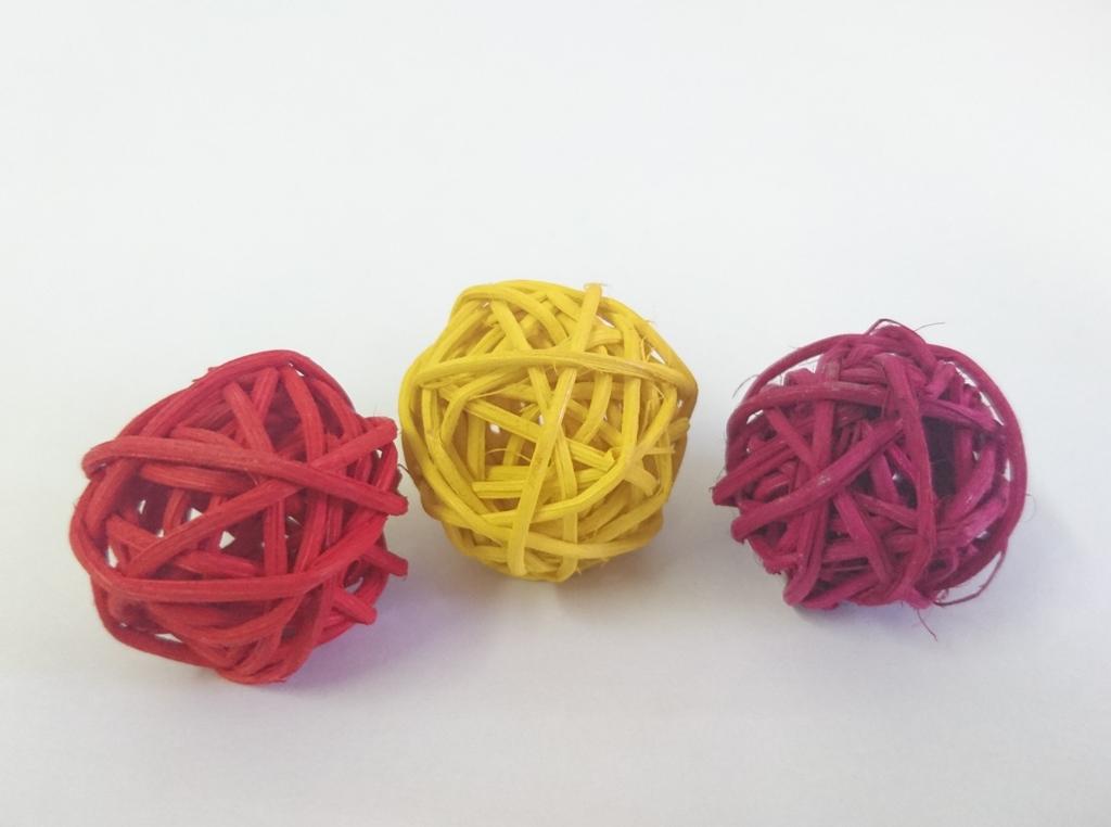 Aranžovací koule 3cm Barva: červená