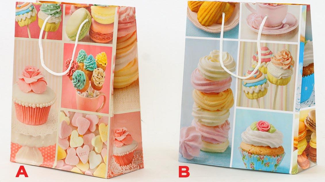 Artium Papírová taška   cupcake   střední Provedení: A