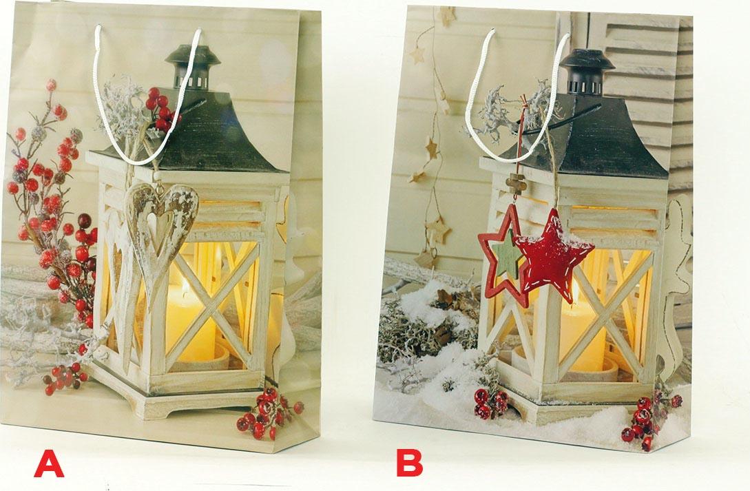 Artium Papírová taška velká   vánoční motiv Provedení: A