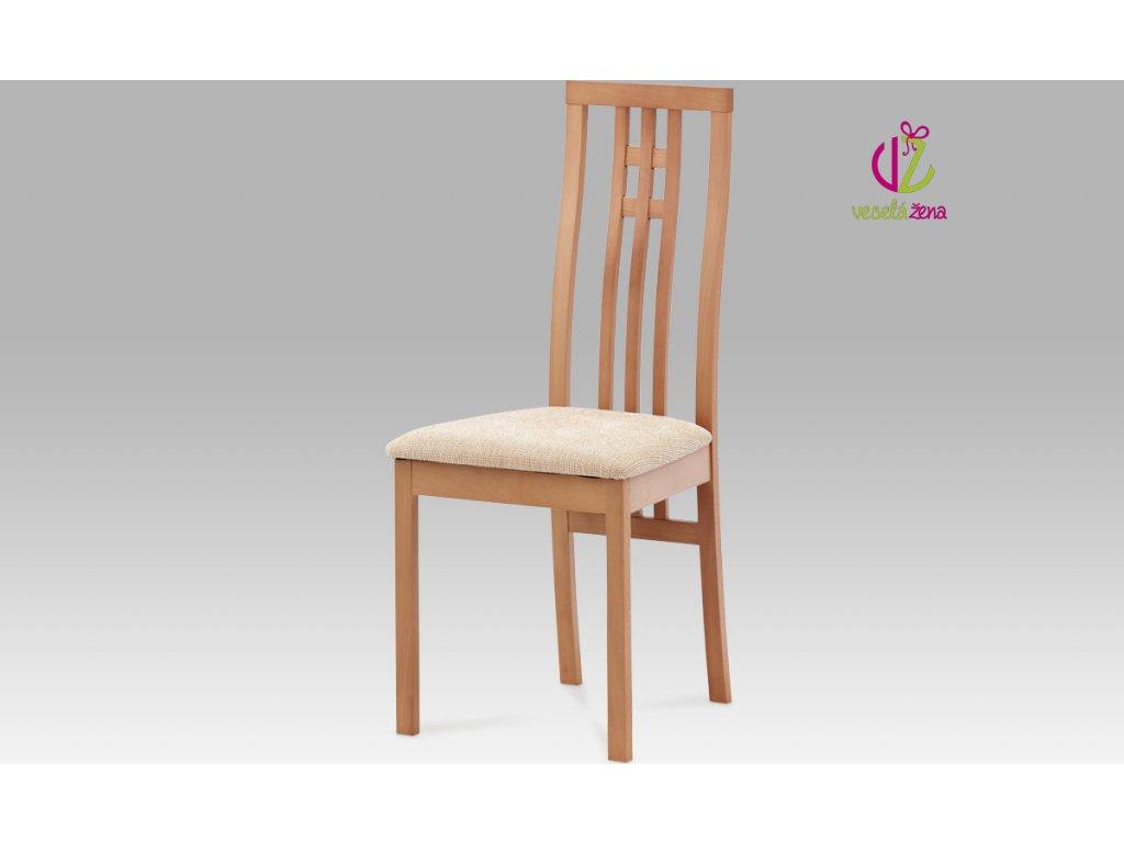 Jídelní židle buk 46x41x99x47cm Barva: buk