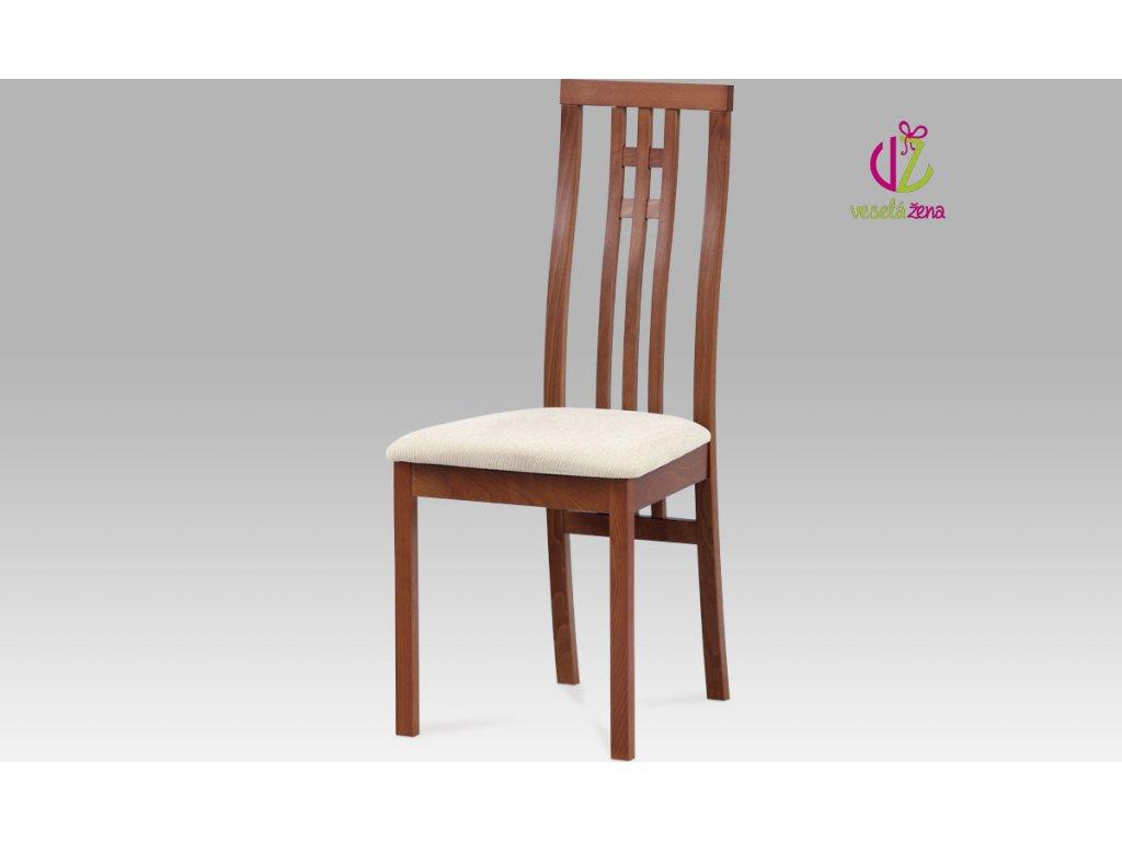 Jídelní židle buk 46x41x99x47cm Barva: třešeň