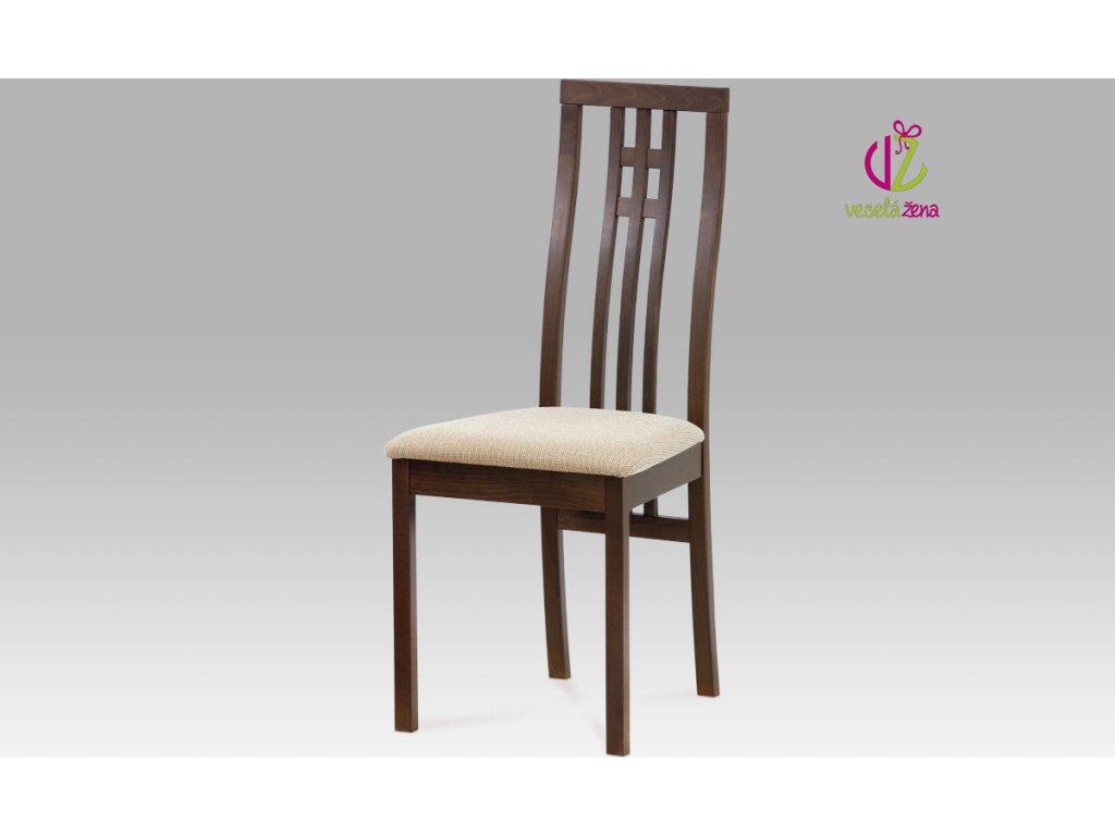 Jídelní židle buk 46x41x99x47cm Barva: ořech