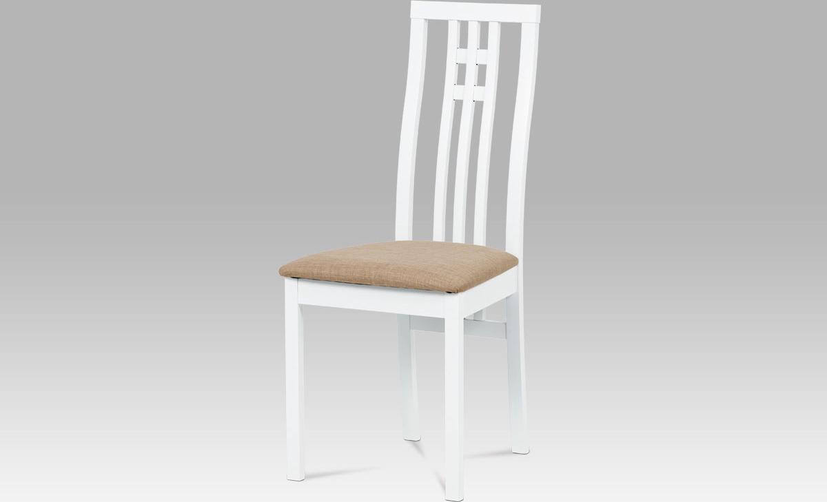 Artium Jídelní židle bílá 46x41x99x47cm
