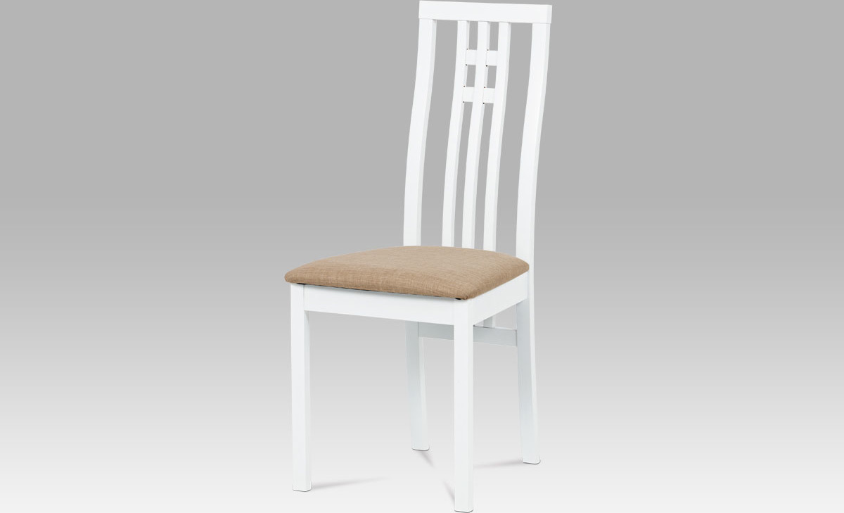 Jídelní židle bílá 46x41x99x47cm