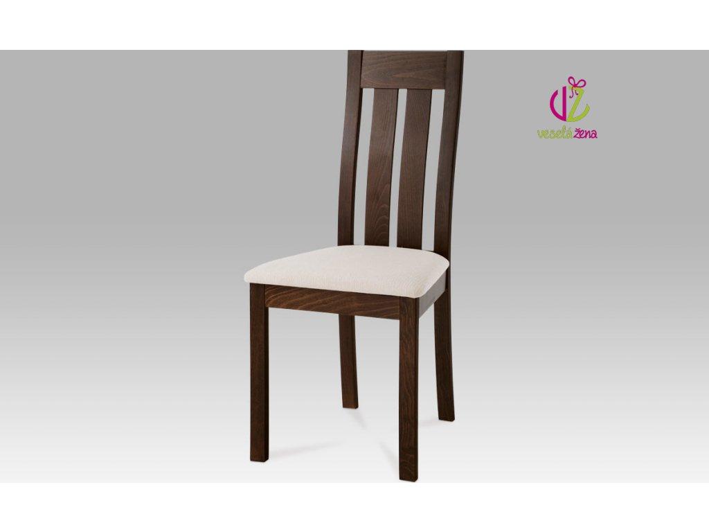 Jídelní židle dřevěná 45x41x96x48cm Barva: ořech