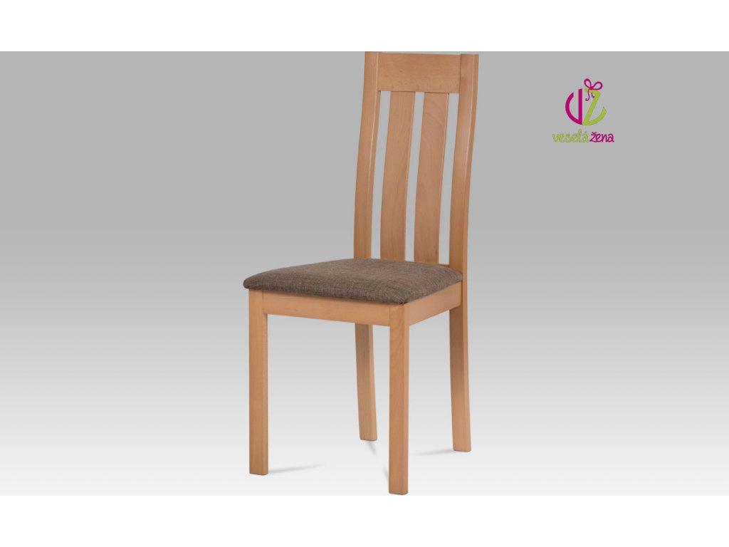 Jídelní židle dřevěná 45x41x96x48cm Barva: buk