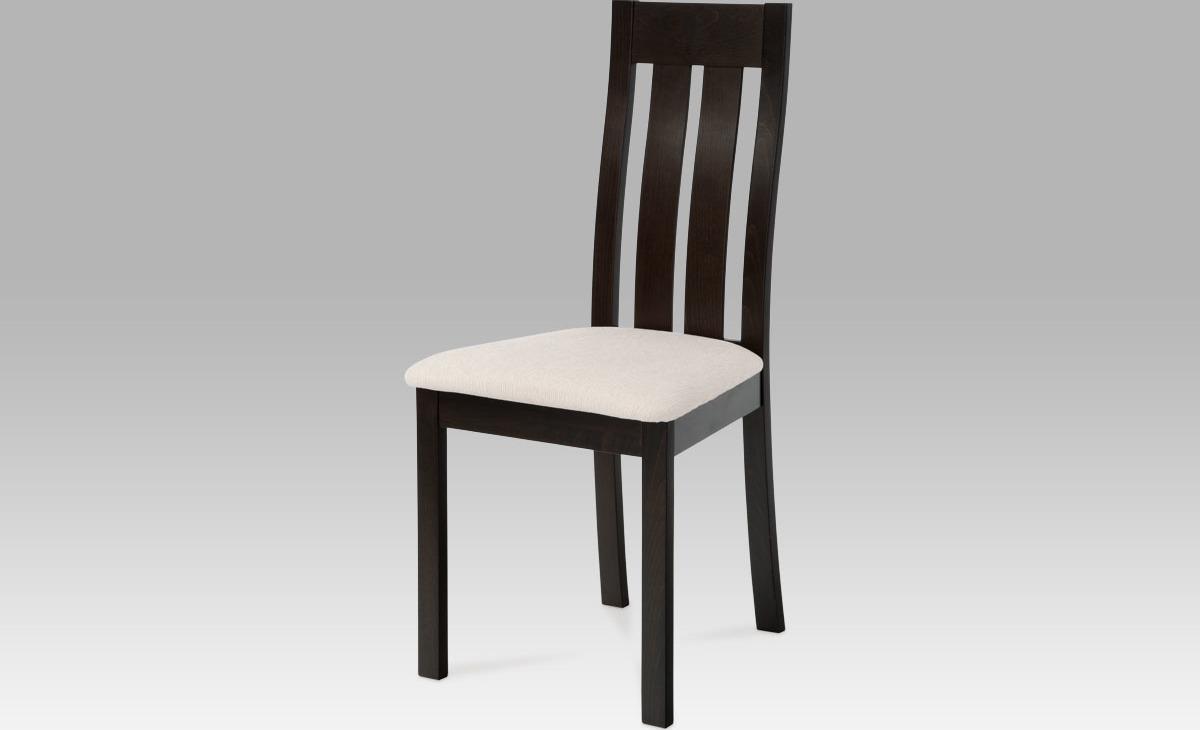Jídelní židle dřevěná 45x41x96x48cm Barva: wenge