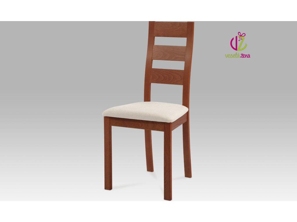 Jídelní židle masiv 45x41x96x48cm Barva: třešeň