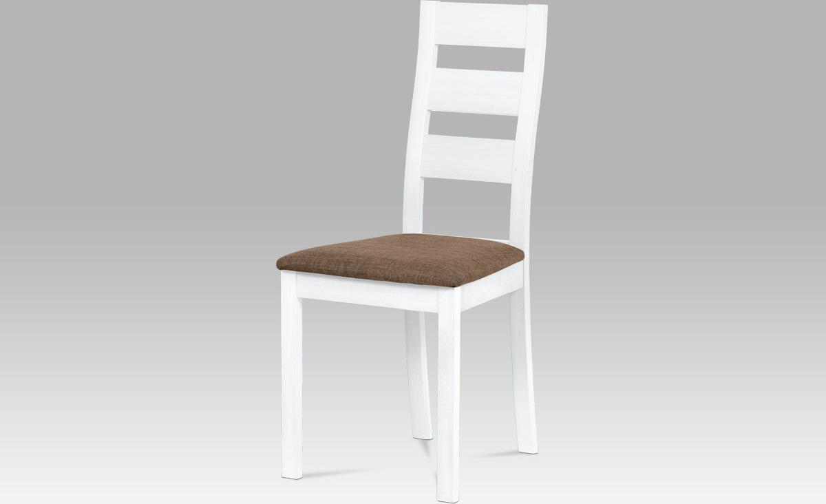 Jídelní židle masiv 45x41x96x48cm Barva: bílá