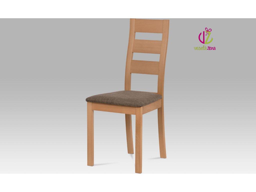 Jídelní židle masiv 45x41x96x48cm Barva: buk