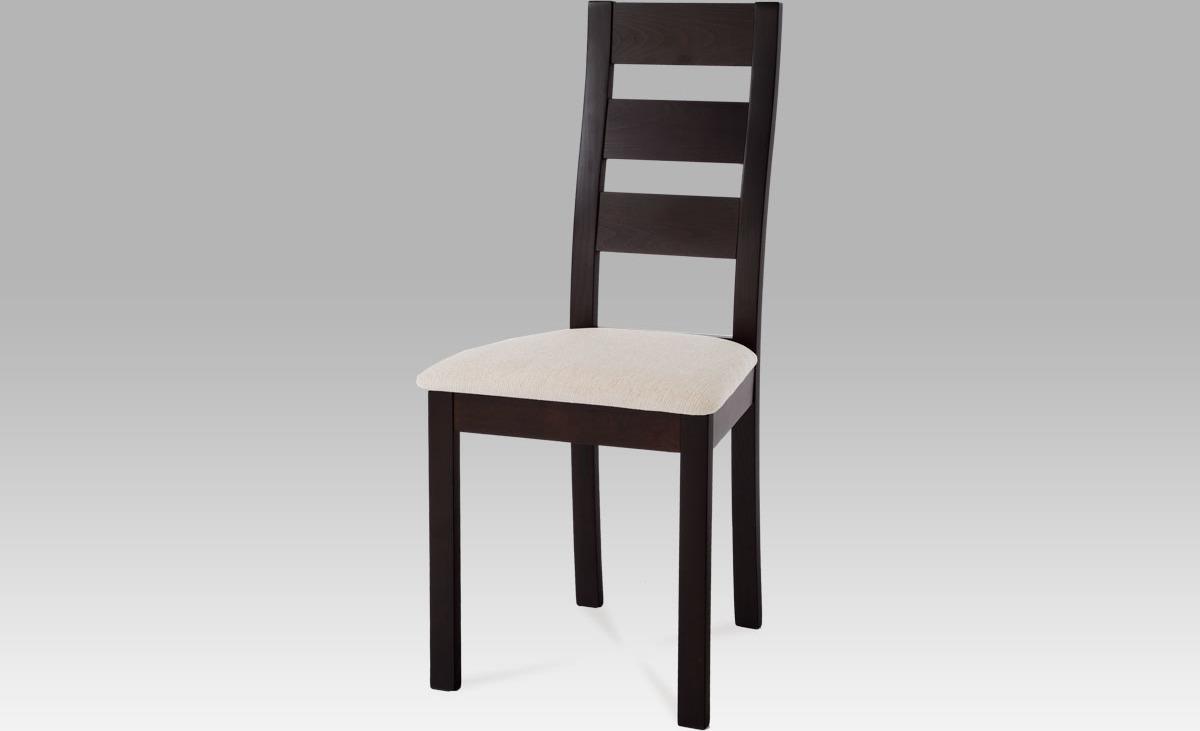 Jídelní židle masiv 45x41x96x48cm Barva: wenge