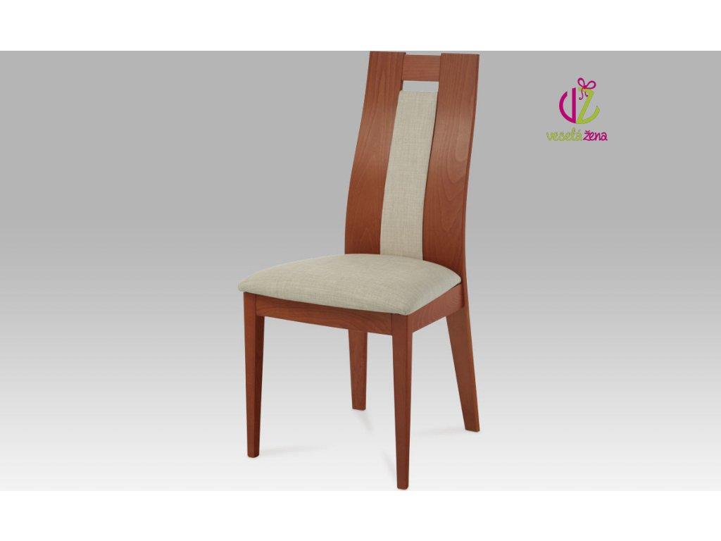 Jídelní židle masiv 47x45x102x49cm Barva: třešeň