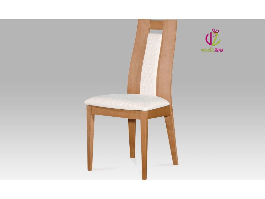 Jídelní židle masiv 47x45x102x49cm Barva: buk