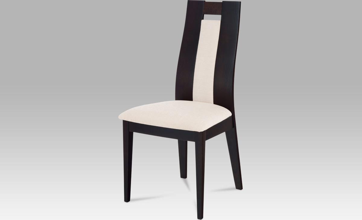 Jídelní židle masiv 47x45x102x49cm Barva: wenge