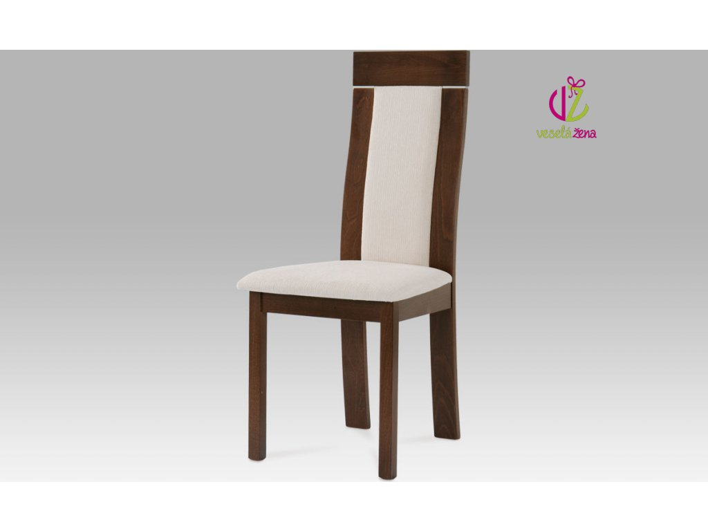 Jídelní židle dřevěná 47x42x103x45cm Barva: ořech