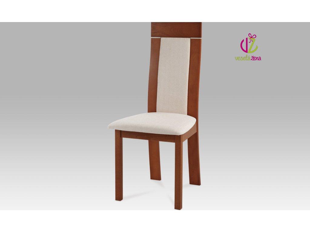 Jídelní židle dřevěná 47x42x103x45cm Barva: třešeň
